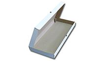 Коробка для пиццы 55*22*4,5 (см) (белая)